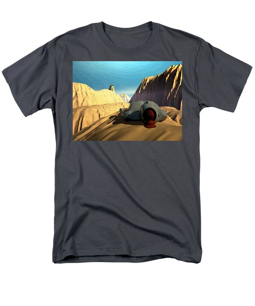 Men's T-Shirt  (Regular Fit) featuring the digital art The Midlife Dreamer by John Alexander