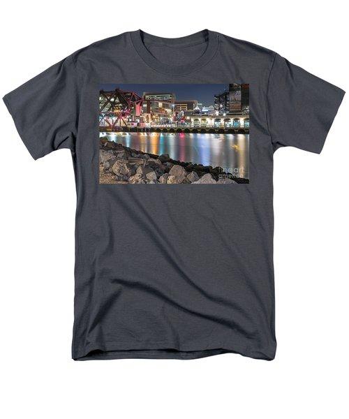 Third Street Bridge Men's T-Shirt  (Regular Fit) by Kate Brown