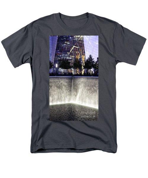 Men's T-Shirt  (Regular Fit) featuring the photograph World Trade Center Museum by Lilliana Mendez