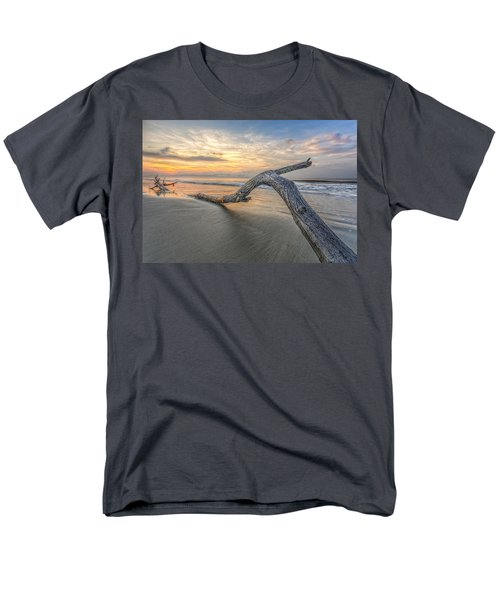 Bough In Ocean Men's T-Shirt  (Regular Fit) by Peter Lakomy