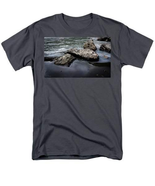 Rocks In The River Men's T-Shirt  (Regular Fit) by Andrew Matwijec