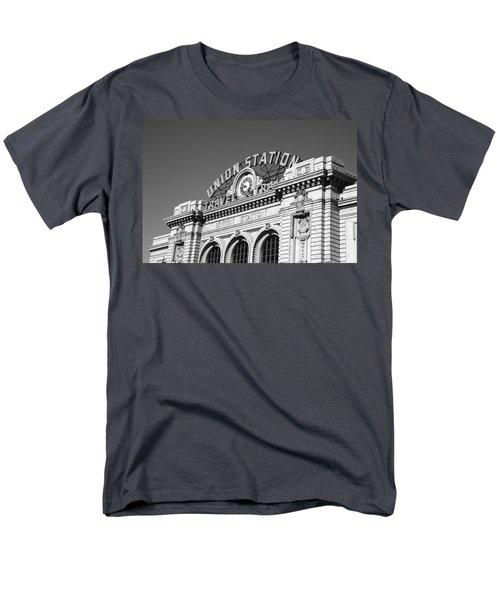 Denver - Union Station Men's T-Shirt  (Regular Fit) by Frank Romeo