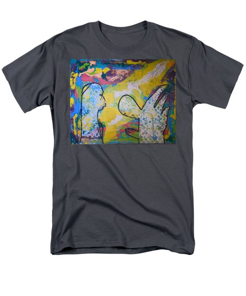 The Annunciation Men's T-Shirt  (Regular Fit) by Gloria Ssali