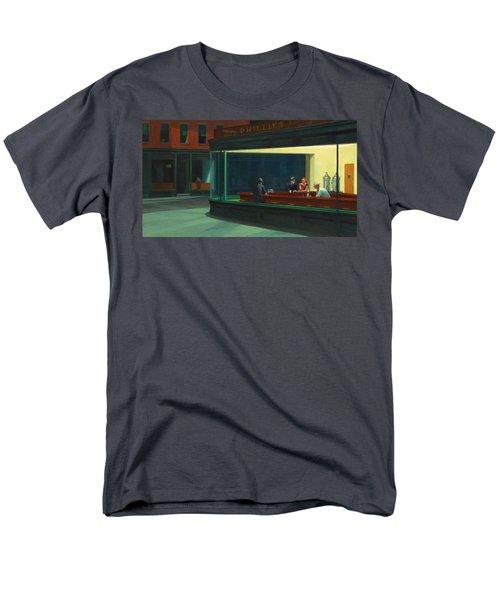 Nighthawks Men's T-Shirt  (Regular Fit) by Edward Hopper