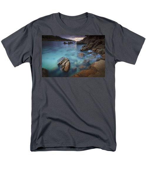 Men's T-Shirt  (Regular Fit) featuring the photograph Chanteiro Beach Galicia Spain by Pablo Avanzini
