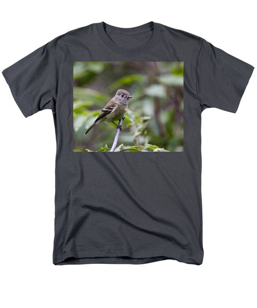 Alder Flycatcher Men's T-Shirt  (Regular Fit) by Doug Lloyd