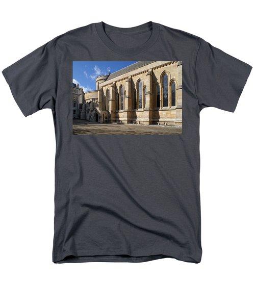 Knights Templar Temple In London Men's T-Shirt  (Regular Fit) by Carol Ailles