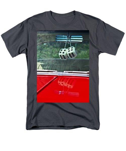 A Bit Dicey Men's T-Shirt  (Regular Fit) by Mark Alder