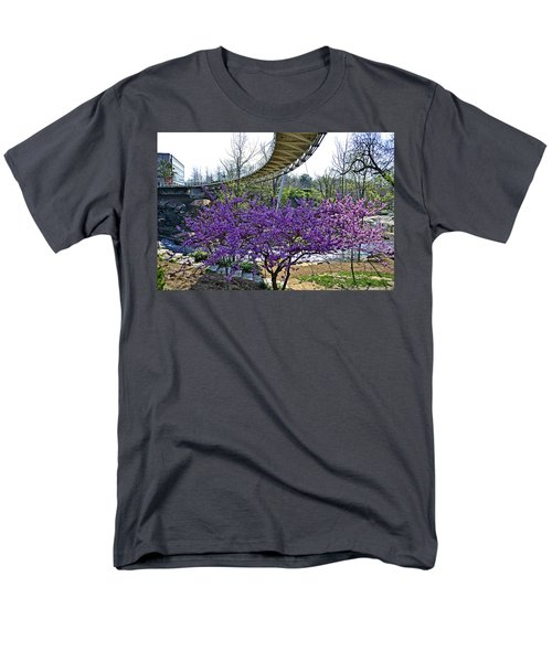Men's T-Shirt  (Regular Fit) featuring the photograph A Bridge To Spring by Larry Bishop