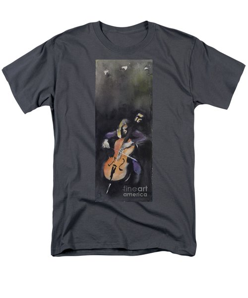 A Cellist Men's T-Shirt  (Regular Fit) by Yoshiko Mishina
