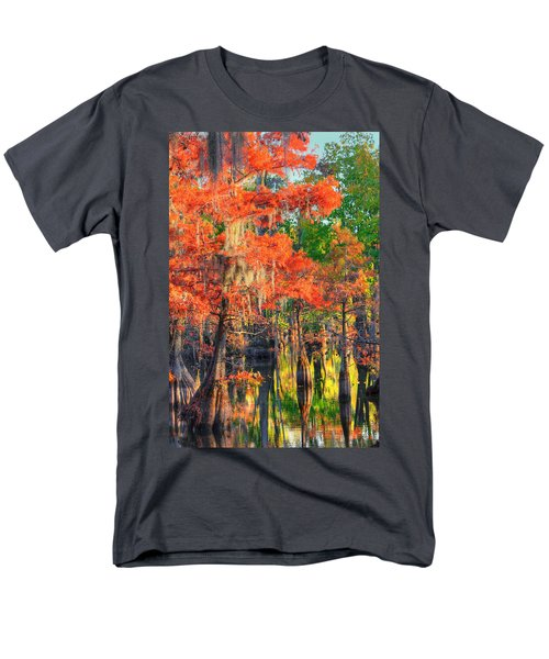 Men's T-Shirt  (Regular Fit) featuring the photograph A Change Of Colors by Ester  Rogers
