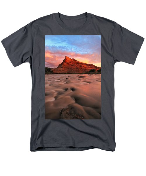 Men's T-Shirt  (Regular Fit) featuring the photograph A Chocolate Milk River by Ronda Kimbrow