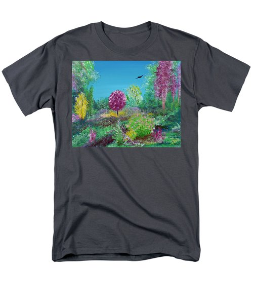 A Corner Of Heaven In Rural Indiana Men's T-Shirt  (Regular Fit) by Alys Caviness-Gober