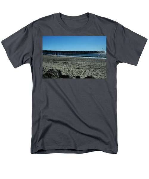 Men's T-Shirt  (Regular Fit) featuring the photograph A Day At The Beach by Michael Gordon