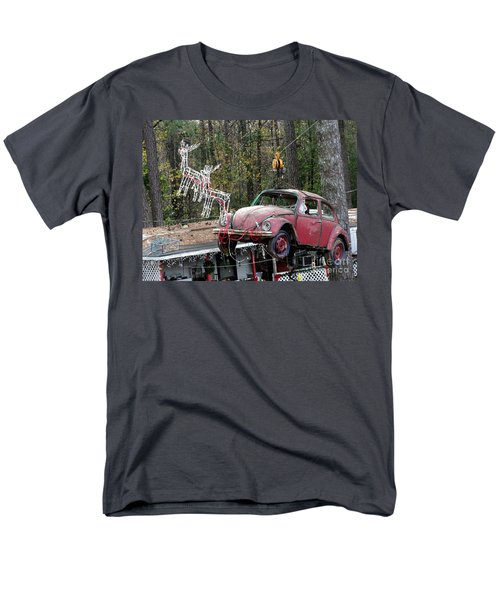 Men's T-Shirt  (Regular Fit) featuring the photograph A Difference Sleigh  by Donna Brown