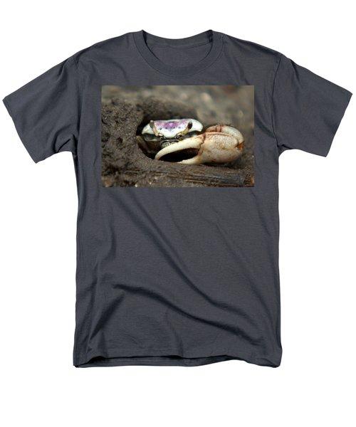 A Fiddler Crab Around Hilton Head Island Men's T-Shirt  (Regular Fit) by Kim Pate