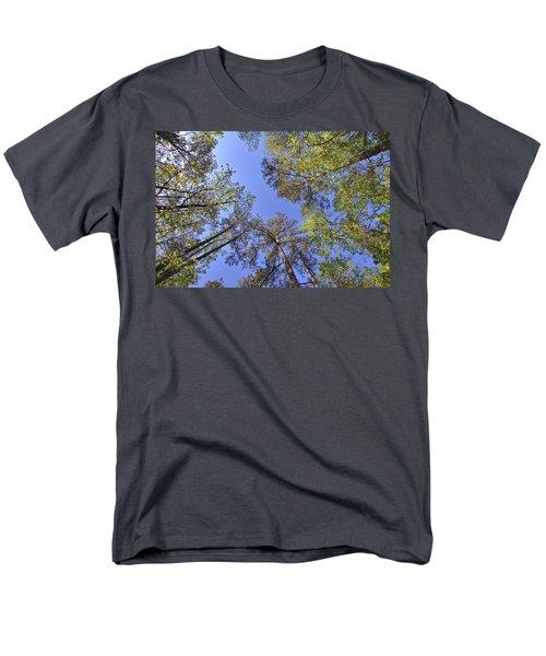 A Forest Sky Men's T-Shirt  (Regular Fit) by Gordon Elwell