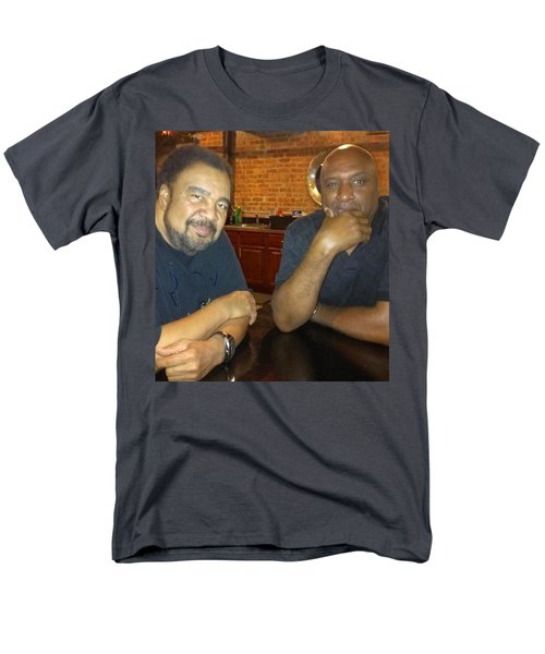 A Friend Mr. George Duke Men's T-Shirt  (Regular Fit) by Paul SEQUENCE Ferguson             sequence dot net