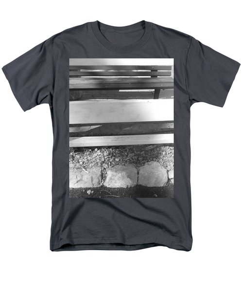 Men's T-Shirt  (Regular Fit) featuring the photograph A Layered  Reconstruction by Esther Newman-Cohen