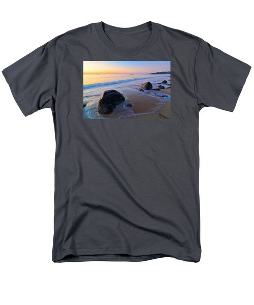 A New Day Singing Beach Men's T-Shirt  (Regular Fit) by Michael Hubley