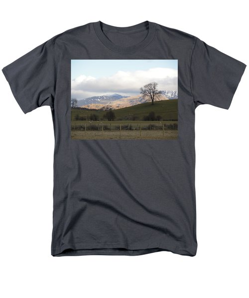 Men's T-Shirt  (Regular Fit) featuring the photograph A Walk In The Countryside In Lake District England by Tiffany Erdman