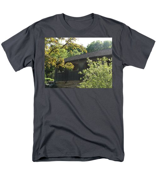 Men's T-Shirt  (Regular Fit) featuring the photograph A Walk In The Park by Tiffany Erdman