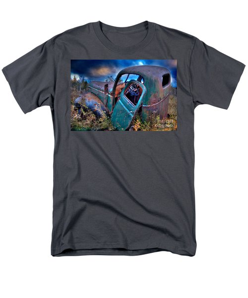 Men's T-Shirt  (Regular Fit) featuring the photograph Abandoned II by Alana Ranney