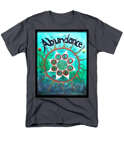 Abundance Money Magnet - Healing Art Men's T-Shirt  (Regular Fit) by Absinthe Art By Michelle LeAnn Scott