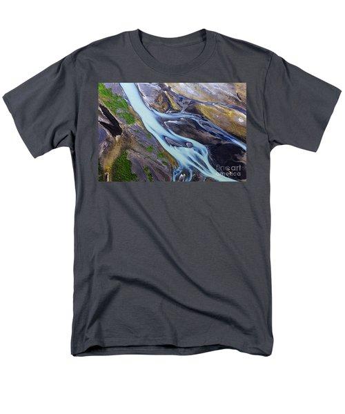 Aerial Photo Of Iceland  Men's T-Shirt  (Regular Fit) by Gunnar Orn Arnason