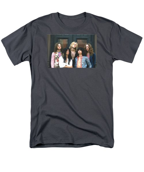 Aerosmith - Boston 1973 Men's T-Shirt  (Regular Fit) by Epic Rights