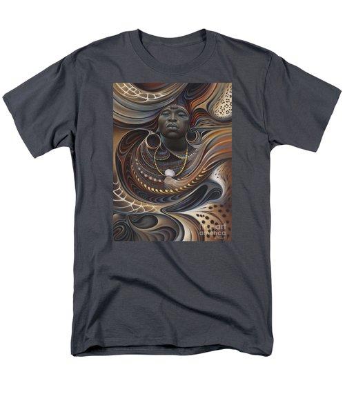 African Spirits I Men's T-Shirt  (Regular Fit)