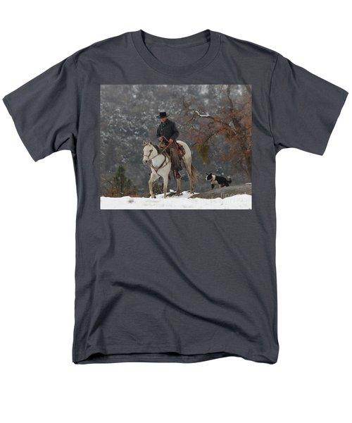Ahwahnee Cowboy Men's T-Shirt  (Regular Fit) by Diane Bohna