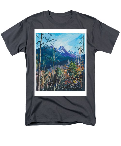 Alaska Autumn Men's T-Shirt  (Regular Fit) by Yulia Kazansky