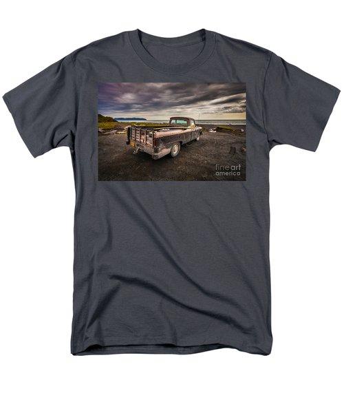 Alaskan Surfer Dudes Truck Men's T-Shirt  (Regular Fit) by Steven Reed