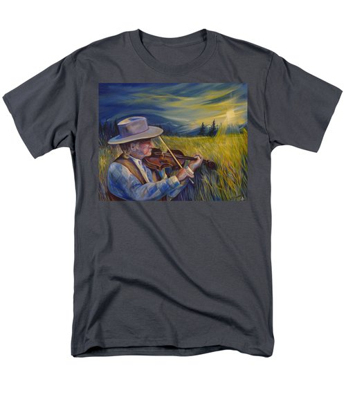 Alberta Lullaby Men's T-Shirt  (Regular Fit) by Anna  Duyunova