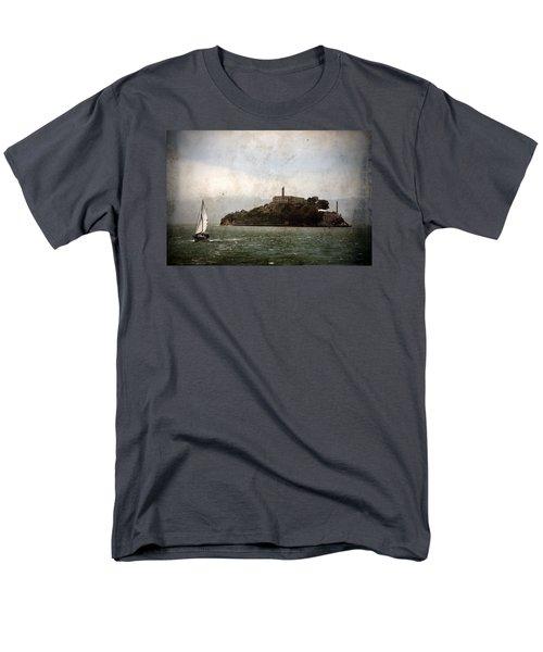 Alcatraz Island Men's T-Shirt  (Regular Fit) by RicardMN Photography