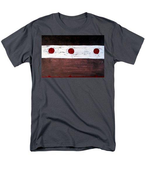 Alignment Original Painting Men's T-Shirt  (Regular Fit) by Sol Luckman