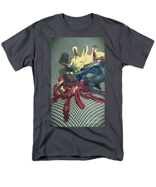 Men's T-Shirt  (Regular Fit) featuring the painting All In by Jacqueline McReynolds