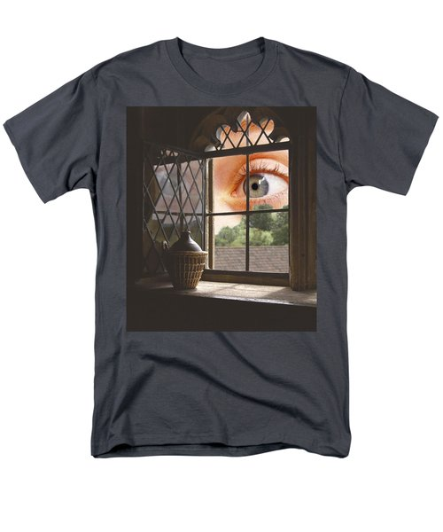 All Seeing Men's T-Shirt  (Regular Fit) by Ron Harpham