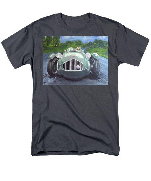 Men's T-Shirt  (Regular Fit) featuring the painting Allard J2x by Anna Ruzsan