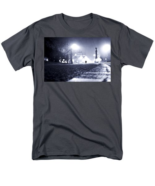 Alone Brooklyn Nyc Usa Men's T-Shirt  (Regular Fit) by Sabine Jacobs