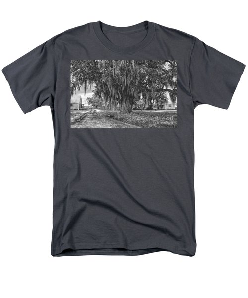Along The River Road Near Vacherie La Men's T-Shirt  (Regular Fit) by Kathleen K Parker