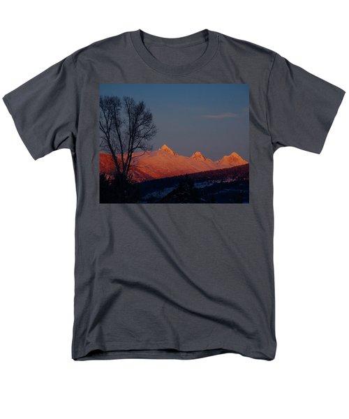Men's T-Shirt  (Regular Fit) featuring the photograph Alpenglow by Raymond Salani III