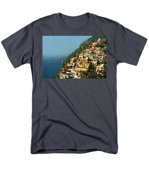 Amalfi Coast Hillside II Men's T-Shirt  (Regular Fit) by Steven Sparks