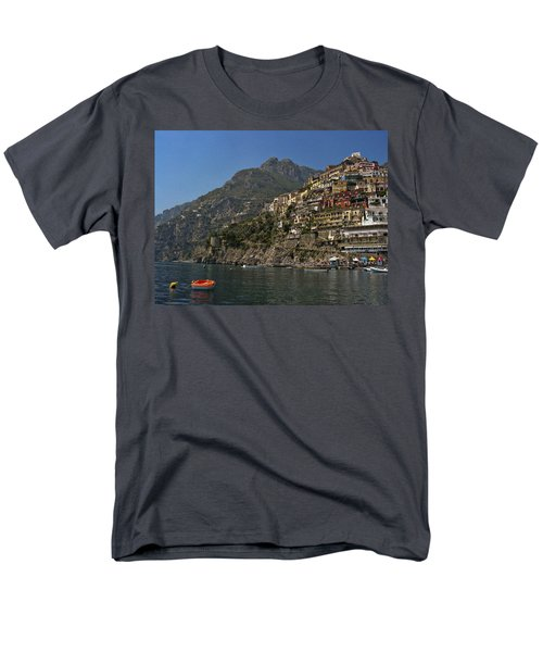 Men's T-Shirt  (Regular Fit) featuring the photograph Amalfi View by Andrew Soundarajan