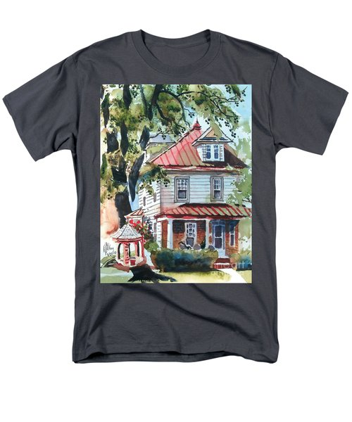 American Home With Children's Gazebo Men's T-Shirt  (Regular Fit)