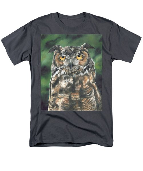 Men's T-Shirt  (Regular Fit) featuring the painting And You Were Saying by Lori Brackett