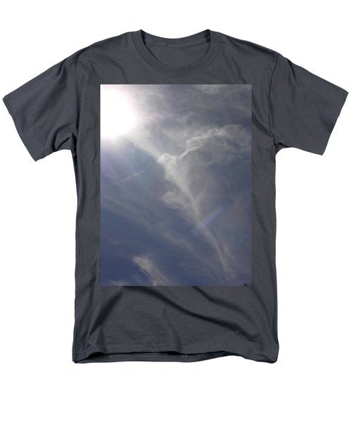 Men's T-Shirt  (Regular Fit) featuring the photograph Angel Holding Light by Deborah Moen