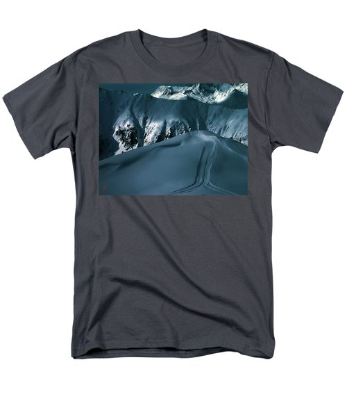 Another Late Day In The Mountains  Men's T-Shirt  (Regular Fit) by Colette V Hera  Guggenheim
