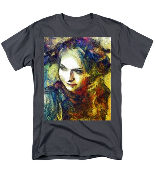 Men's T-Shirt  (Regular Fit) featuring the drawing Another Lonely Day by Joe Misrasi